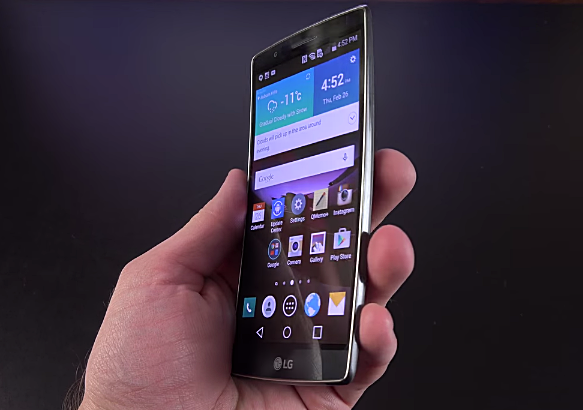 LG G Flex 2, Most Powerful Smartphones 2015