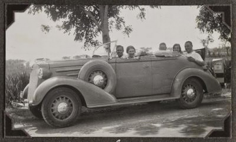 Old Indonesian Vehicles 1936 Chevrolet Standard Convertible