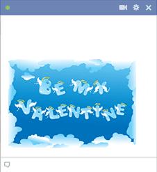 Valentine Sky Emoticon