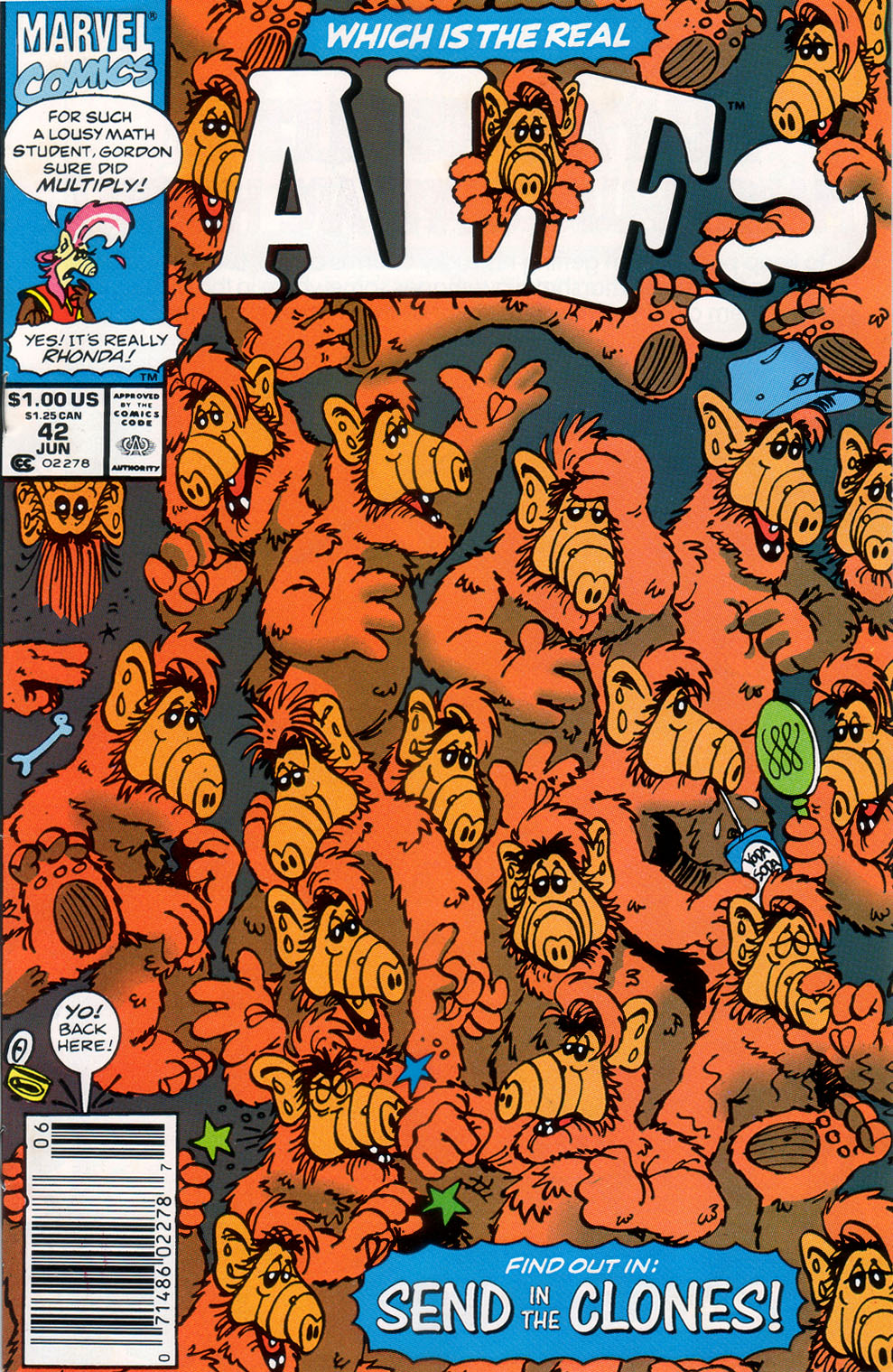Read online ALF comic -  Issue #42 - 1
