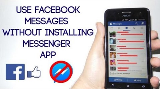 Facebook messages without messenger iphone