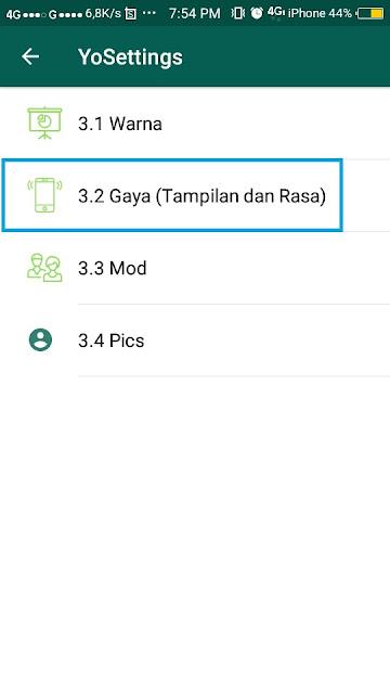 Cara Mengubah Gelembung Whatsapp - 9