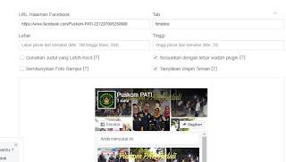cara buat fans page FB di blog atau website
