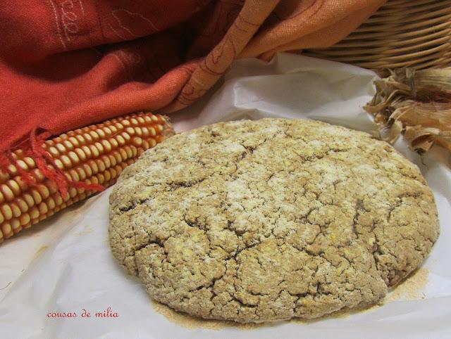 Pan de maíz y teff #wbd206