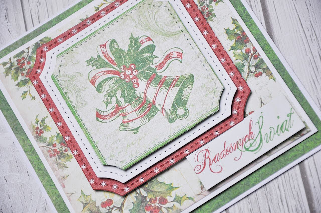 papier do scrapbookingu Christmas in Avonlea