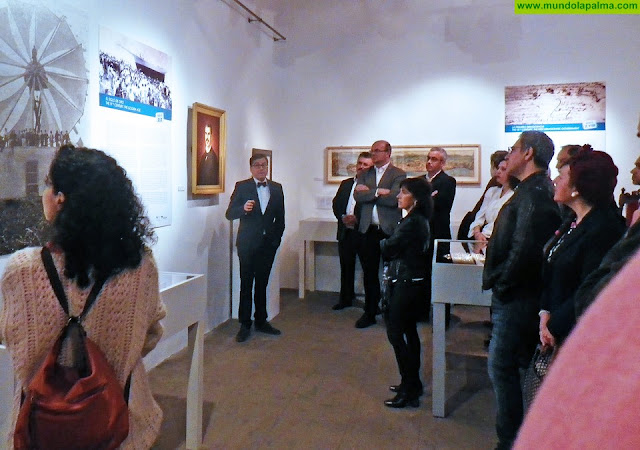 El Cabildo se une al 525 aniversario de Santa Cruz de La Palma con la exposición 'Cinco mitos para cinco siglos'