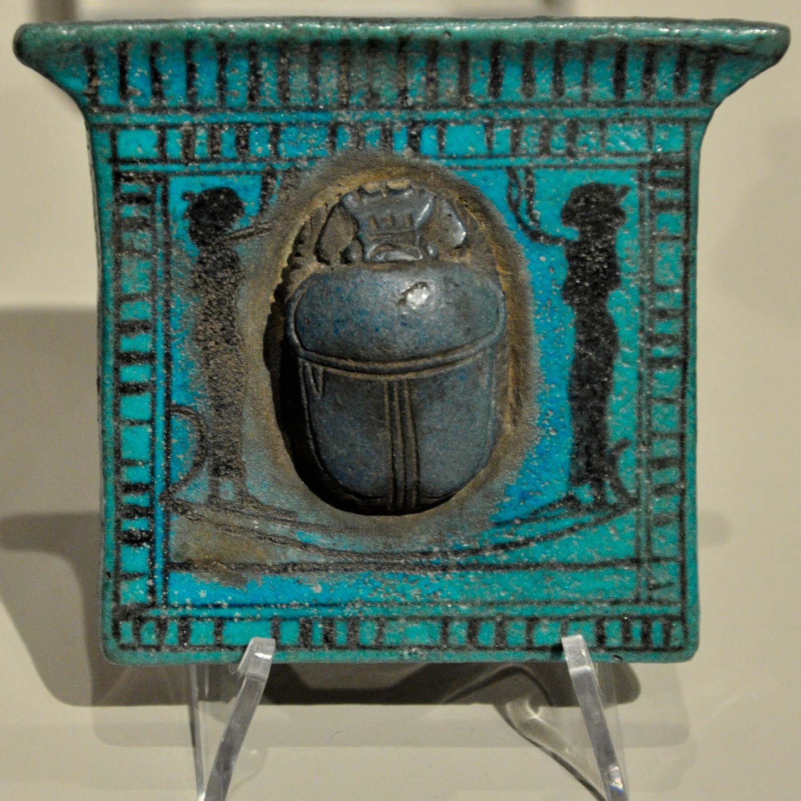 Ancient Egyptian Scarab, Egyptian Museum, Turin, Italy