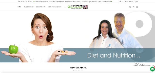 Paul and Beccy Hopfensperger - Herbalife Independent Members since 1987