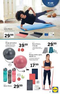 CATALOG LIDL 7 ianuarie - 13 ianuarie 2019 saltea yoga