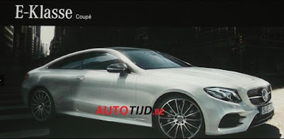 2018 Mercedes Benz E Class Coupe Leaked Online