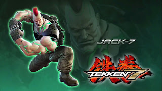 Tekken 7 Jack 7 wallpaper 1920x1080