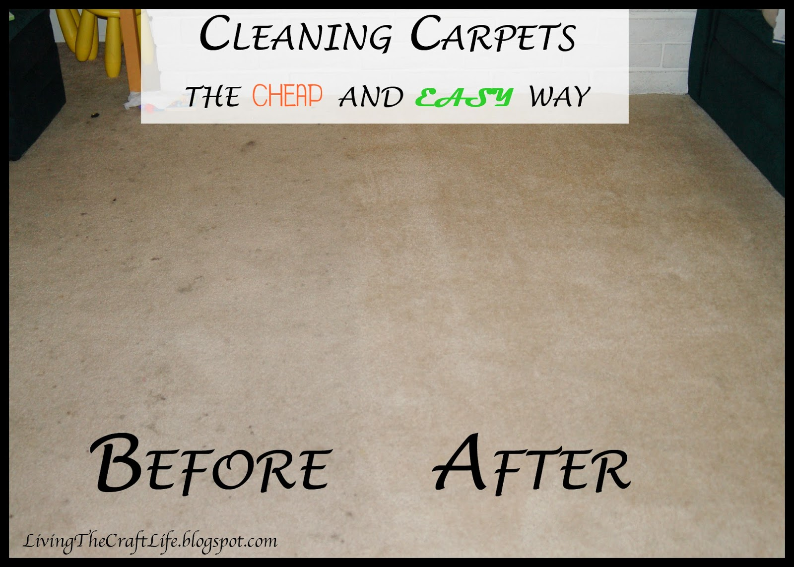 Living The Craft Life Cleaning Carpets