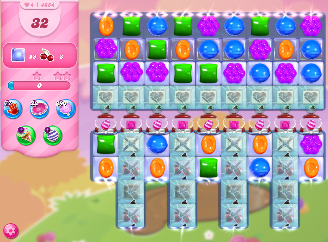 Candy Crush Saga level 4654