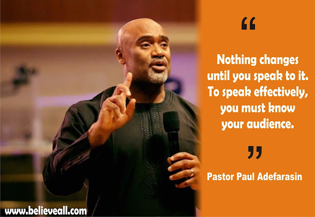 #HOTRService: Powerful#Quotes Of Pastor Paul Adefarasin on The Message Titled 'Before You Prophesy'