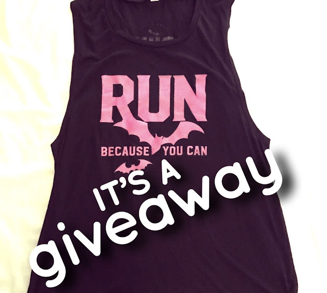 giveaway contest enter win miles and pace tank shirt muscle