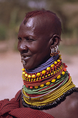 Nude Tribal African Women