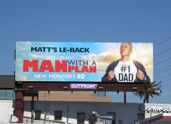 Man with a Plan series premiere billboard
