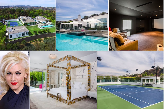 Gwen Stefani's House Expresses Modernity And High Profile Taste
