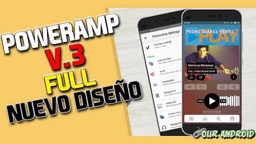 POWERAMP v3 build 790 Full | Mejor Reproductor Premium de Android