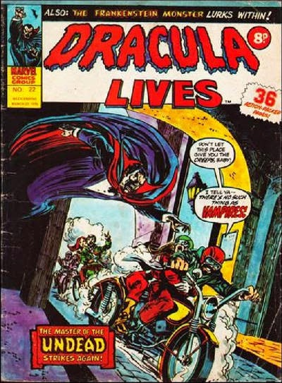 Marvel UK, Dracula Lives #22