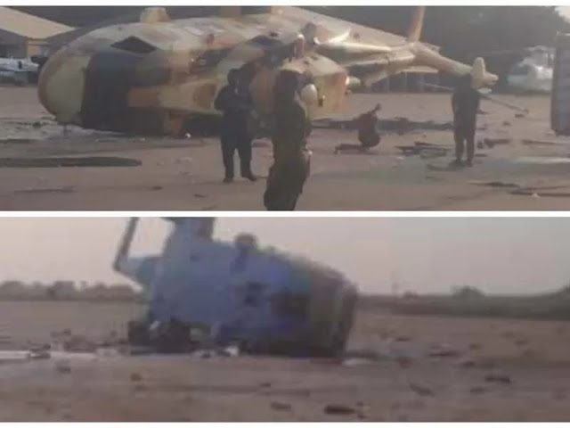 Presidential aircraft handed over to Air Force allegedly crashes in Makurdi