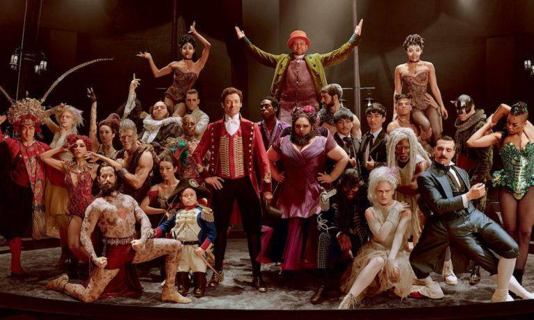 The greatest showman cast