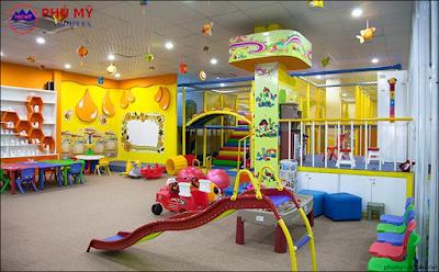 Khu vui chơi trẻ em chung cư N01 T4 Ngoại Giao Đoàn
