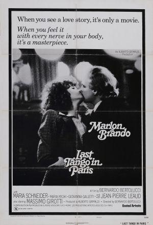 last tango in paris, starring marlon brando, maria schneider, directed by bernardo bertolucci