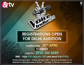 The Voice India Kids &Tv Singing Reality Show Wiki Audition,Judges,Contestant,Host,PromoTiming