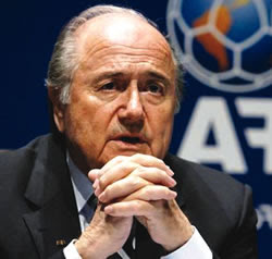 I'll Remain FIFA President – Blatter