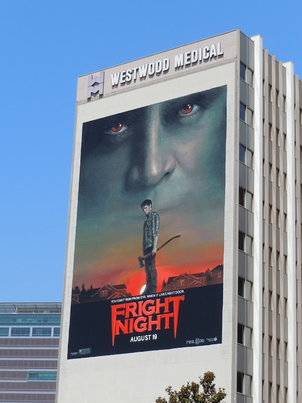 Giant Fright Night billboard