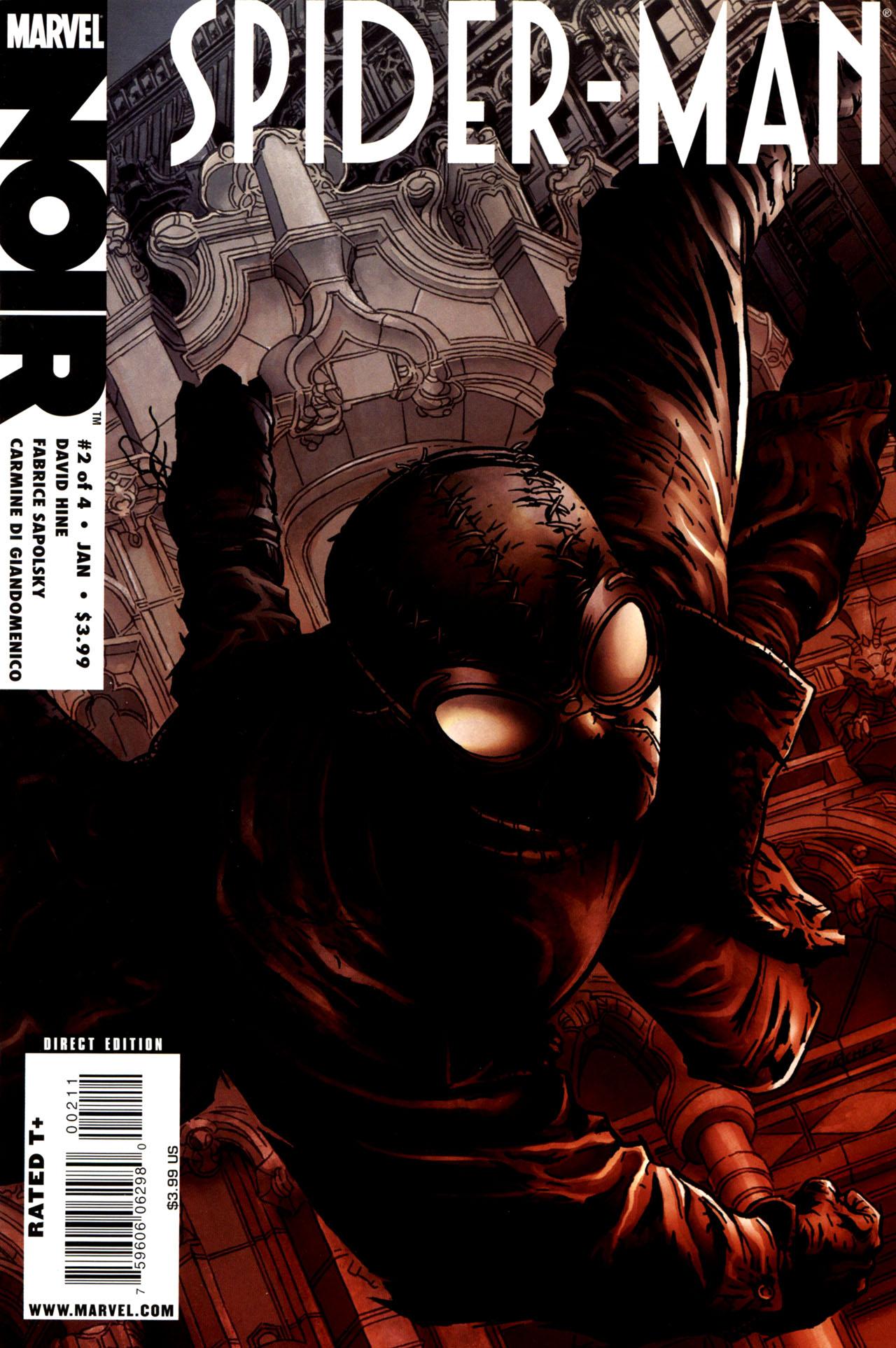 Spider-Man Noir (2009) issue 2 - Page 1