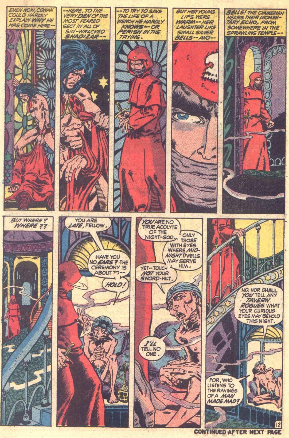 Conan the Barbarian (1970) Issue #6 #18 - English 13