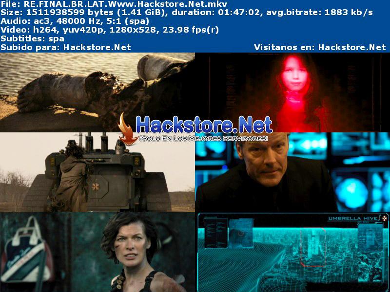 Capturas de Resident Evil: Capítulo Final (2017) HD Latino
