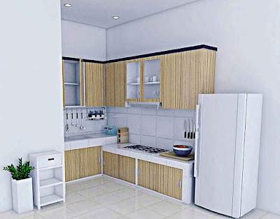 Gambar Model Desain Rumah Minimalis yang Bagus untuk Dapur