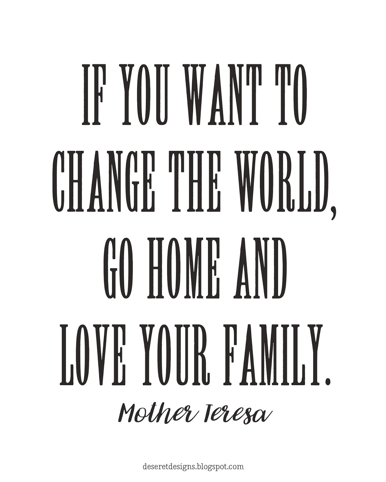 Deseret Designs 10 Free Quotes On The Home That Are Great