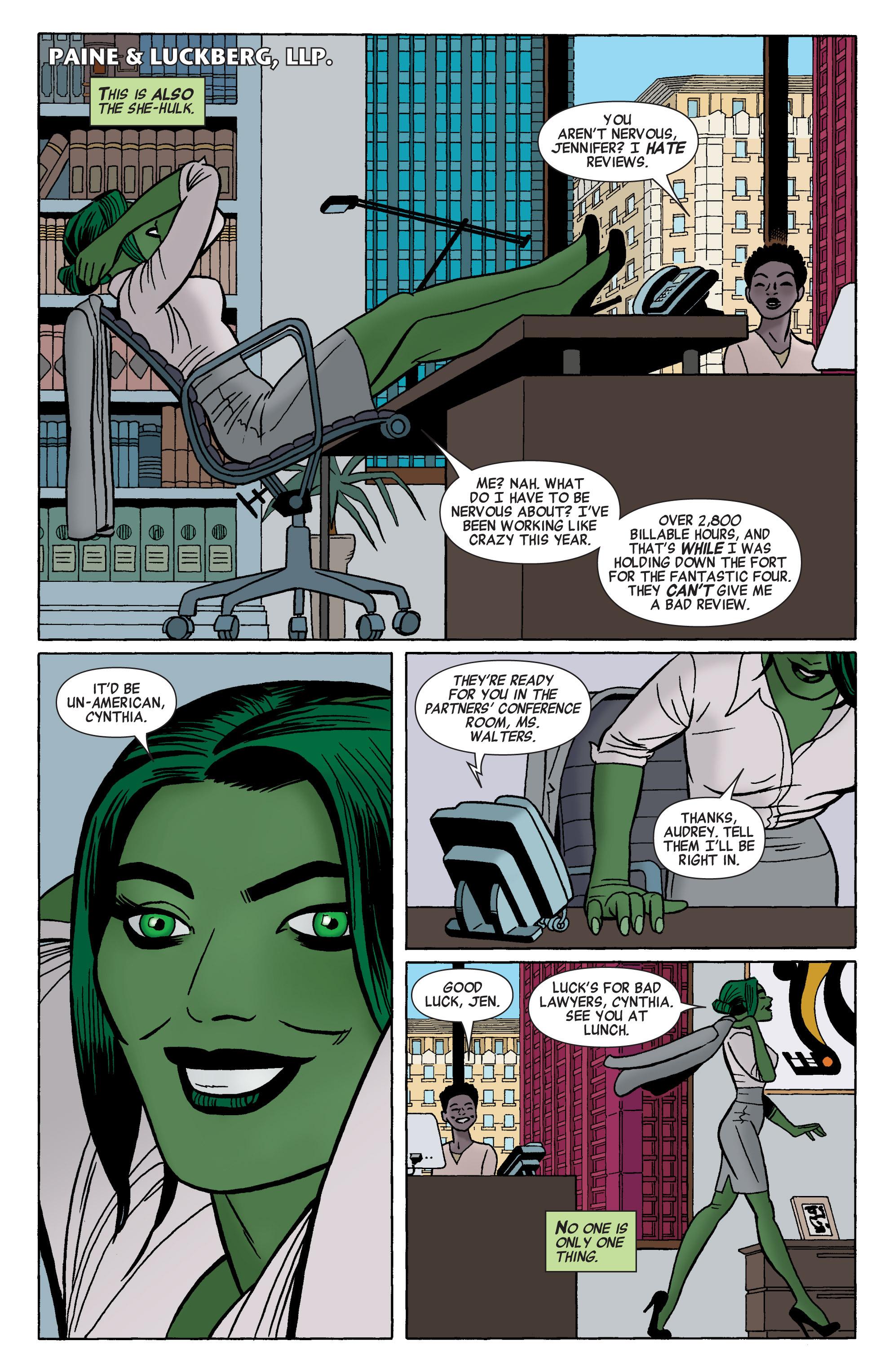 Read online She-Hulk (2014) comic -  Issue #1 - 4
