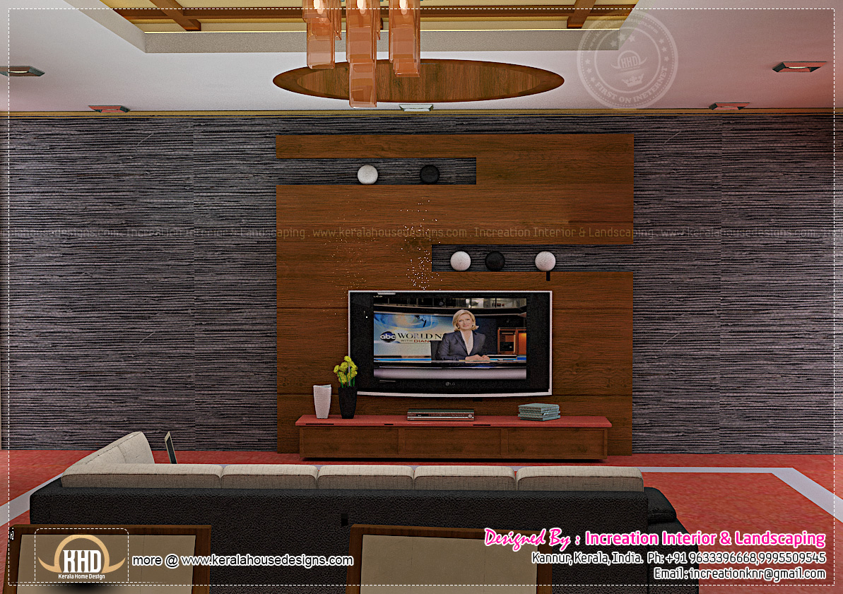 Tv Stand Designs Kerala : Interior design ideas for homes kerala home and