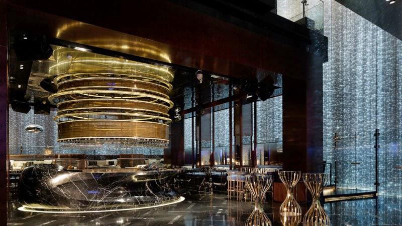 Los 29 mejores dise os de interiores de bares y for Casa moderna restaurante salta