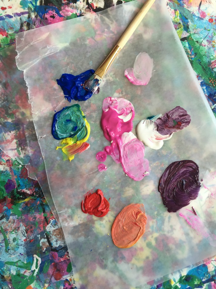 Coloring for Kids color mixing kids : Mini Monets and Mommies: Let's Start Color Mixing! Kids' Art Activity
