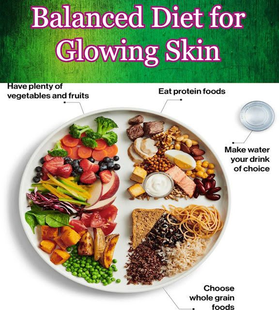 Balanced Diet for Glowing skin