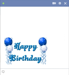Happy Birthday Facebook Art