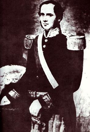 Imagen de José Rufino Echenique como Presidente del Perú