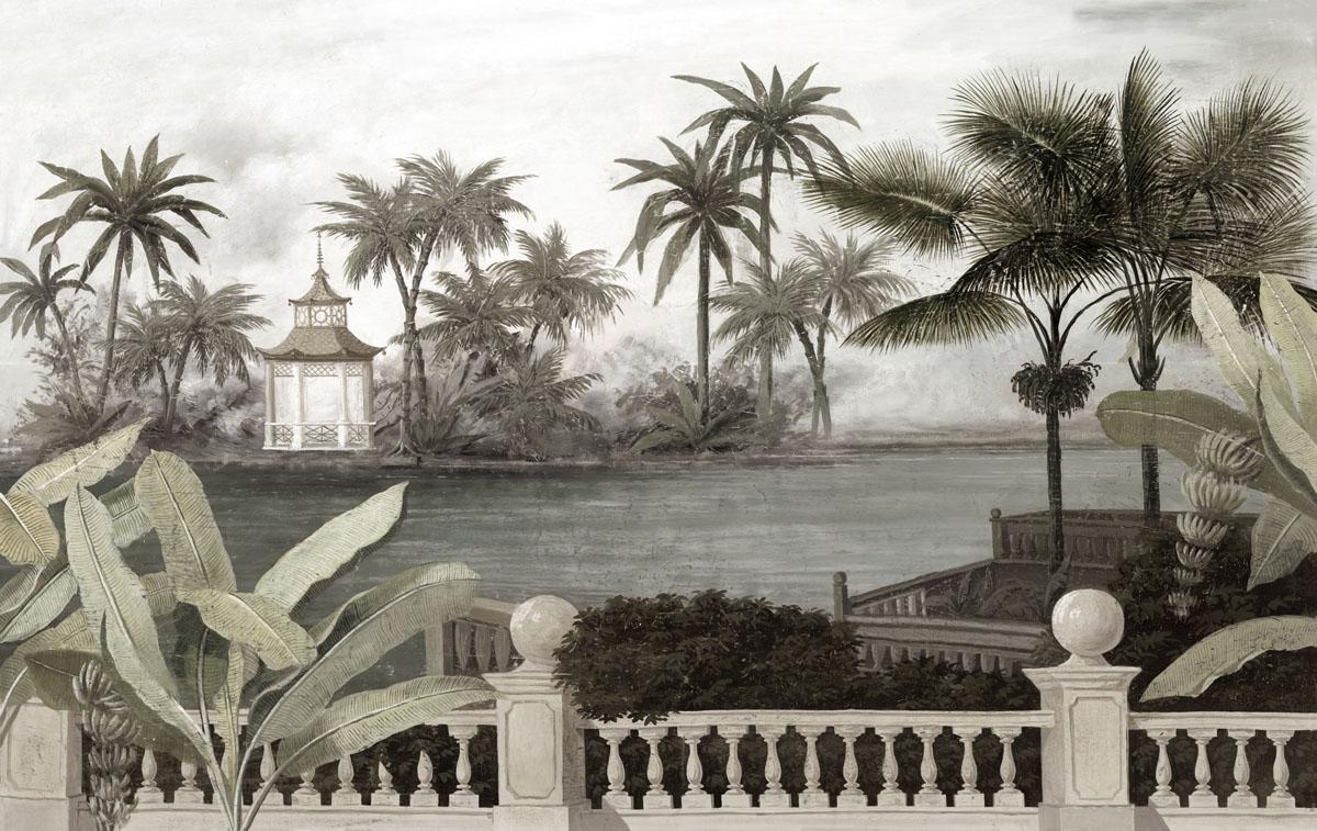 ananb chao phraya un nouveau papier peint panoramique de la collection ananb. Black Bedroom Furniture Sets. Home Design Ideas