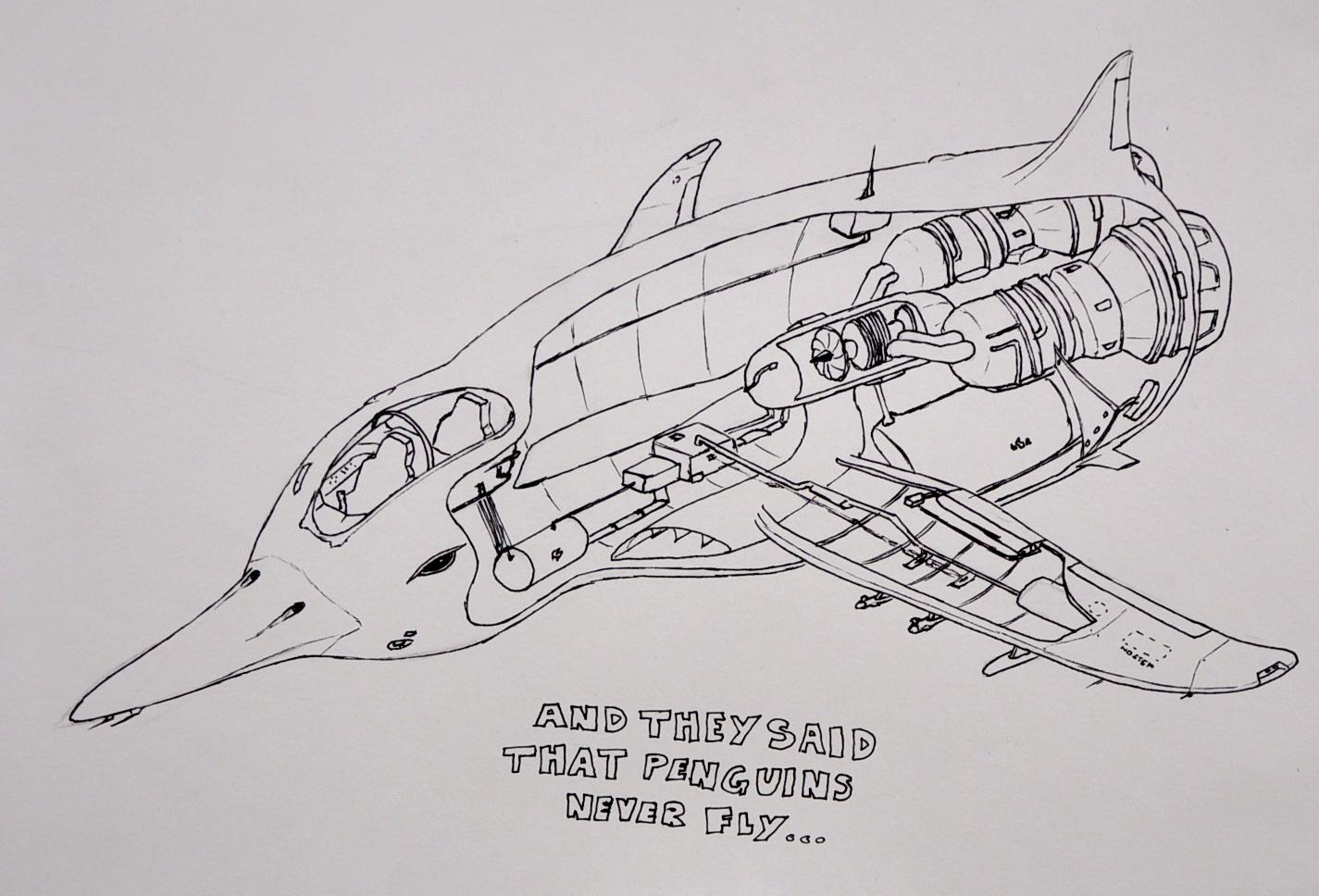 Pompey Illustration: Mechanical Animals