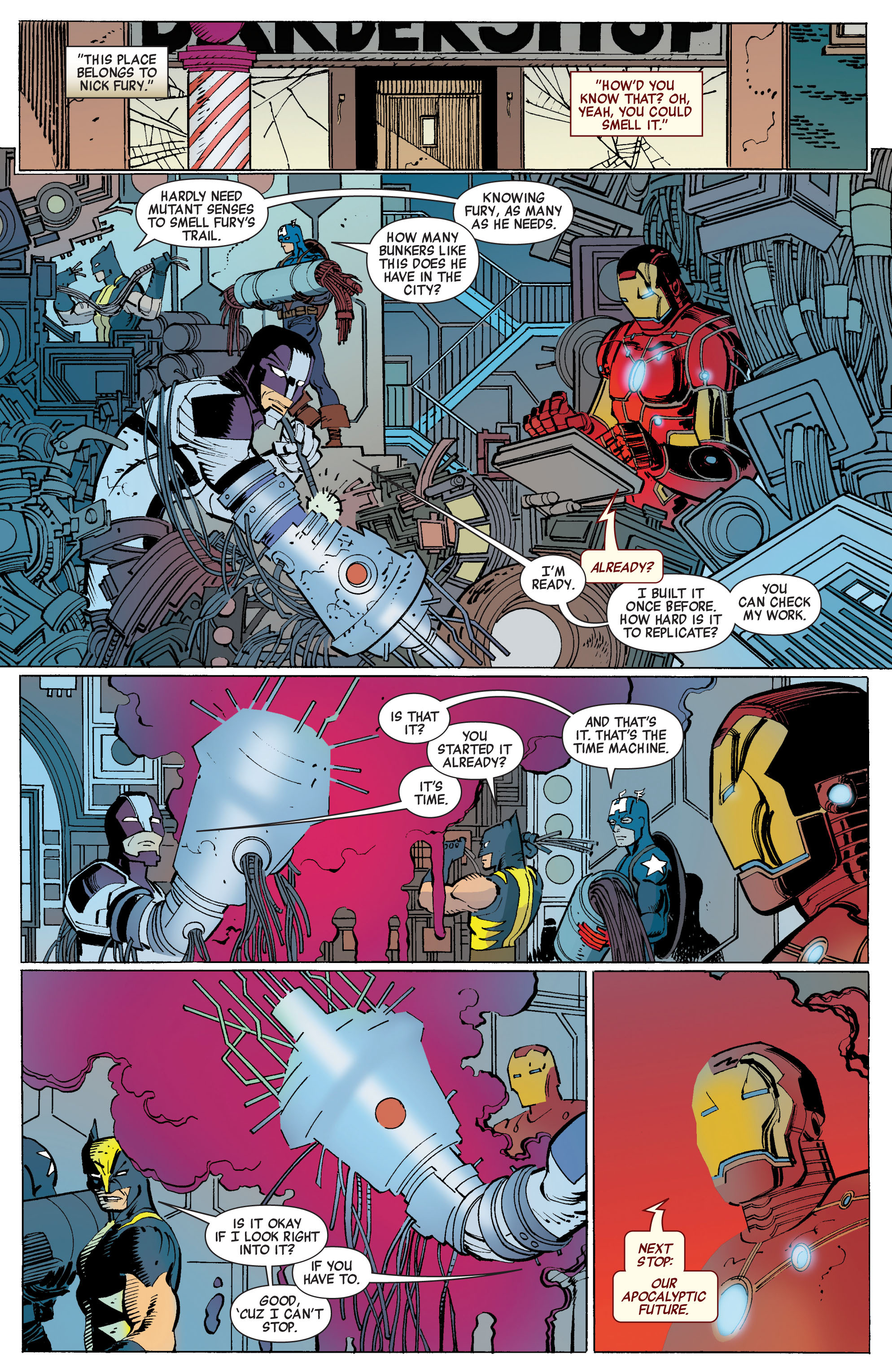 Read online Avengers (2010) comic -  Issue #3 - 21