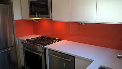 Glass Sheet Backsplash Can Be Painted In The Color Of Your Choice We Offer A Big Palette Colors That Give Kitchen Completely Customizable Look