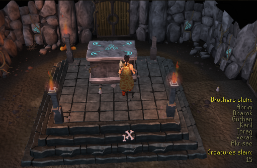 A day at Barrows - RuneScape Reflections