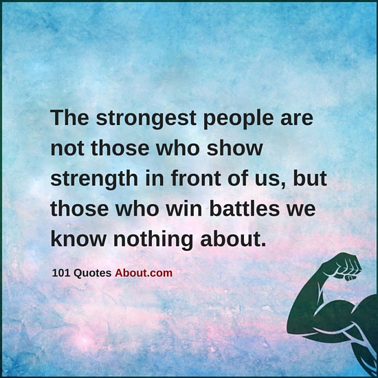 """Strong People Quotes"""