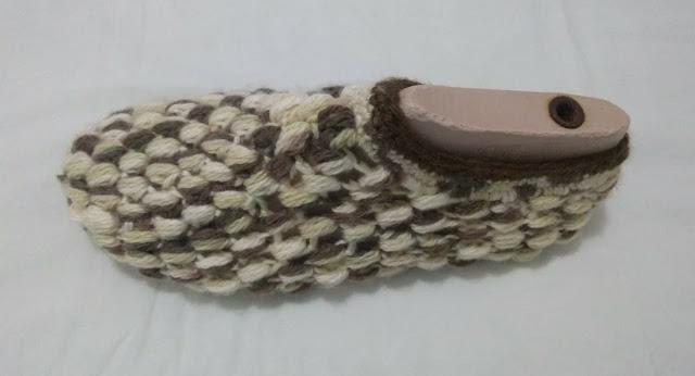 Releitura: Pantufas/Chinelos de crochê para adultos, tutorial / receita, veja detalhes +